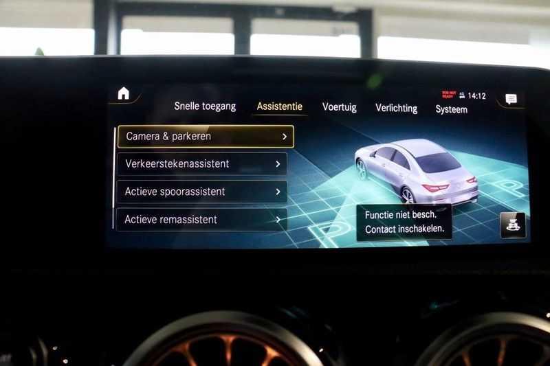 Mercedes-Benz CLA-Klasse 200 AMG Orange Edition PANO|Burmester|360cam|Sfeer afbeelding 25