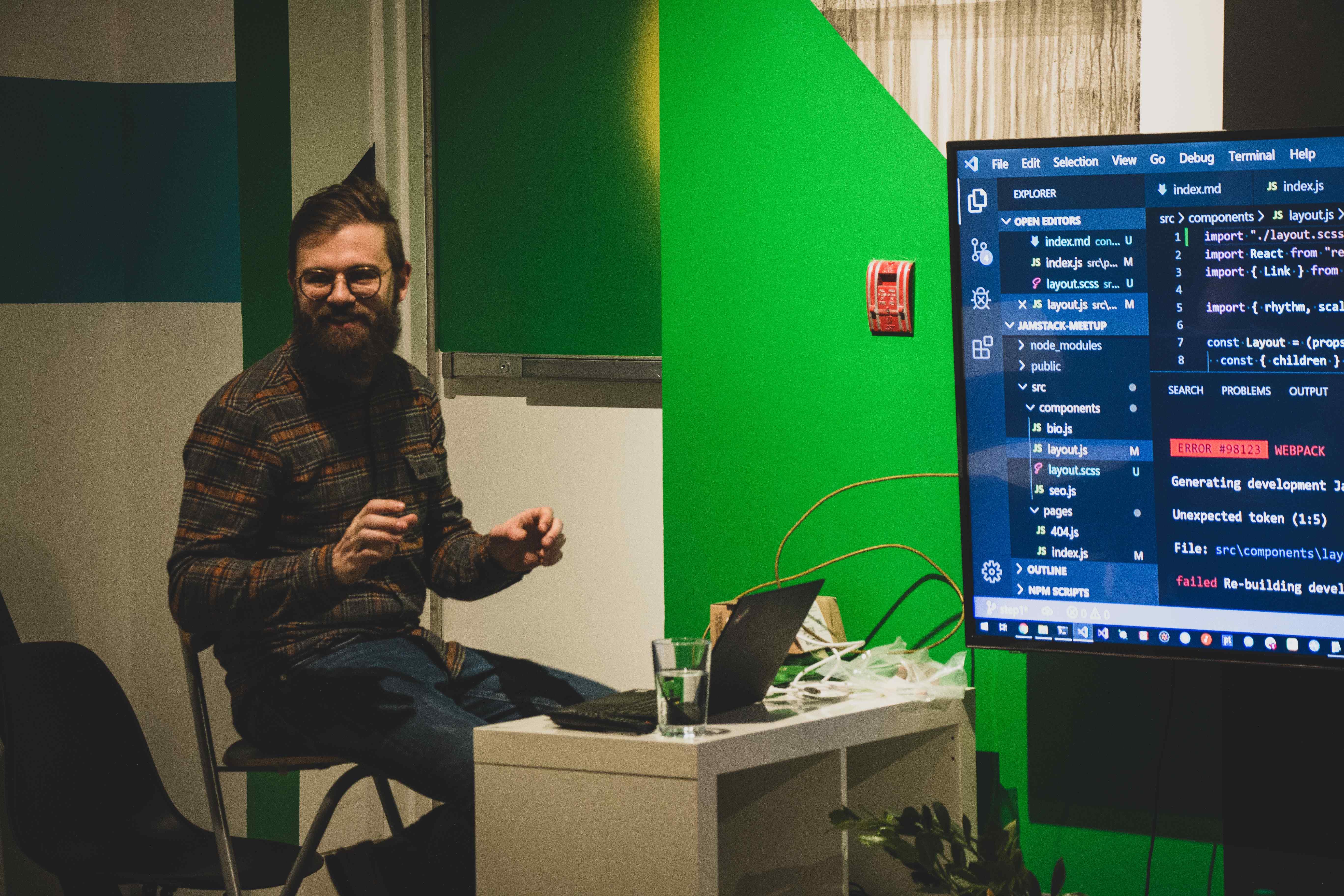 We love code