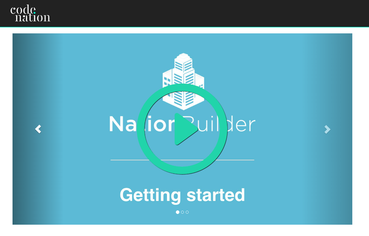 Include videos in your NationBuilder feature slider