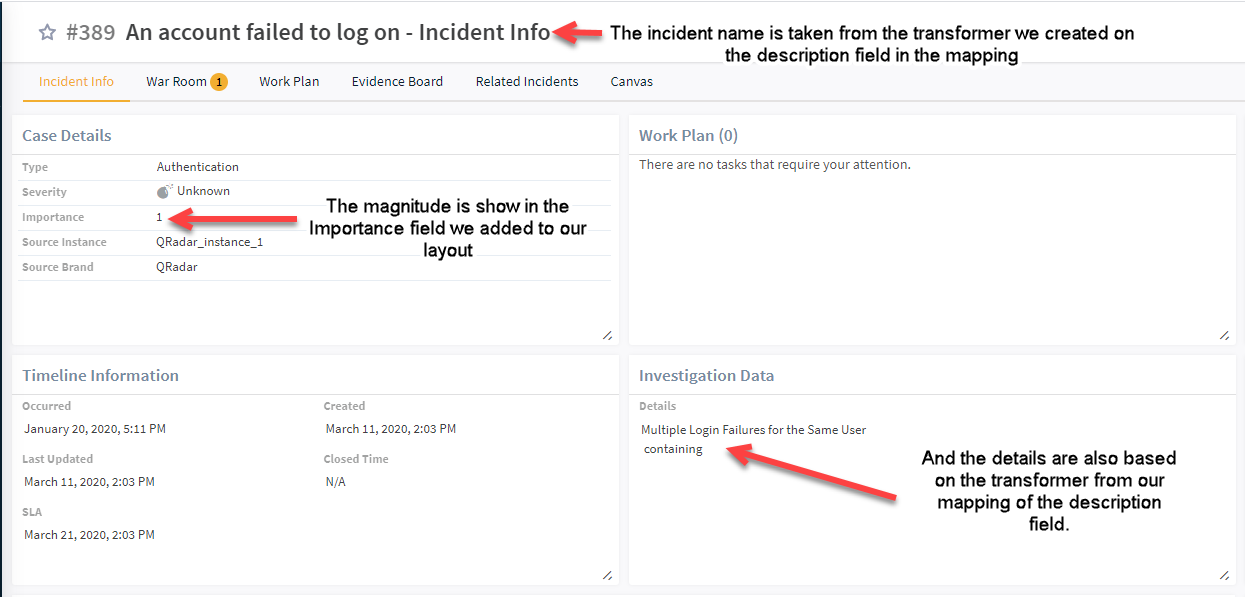 Investigate Incident