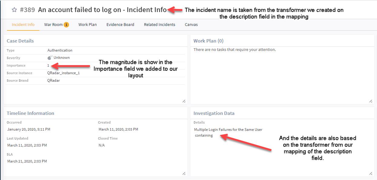 Investigate Incident