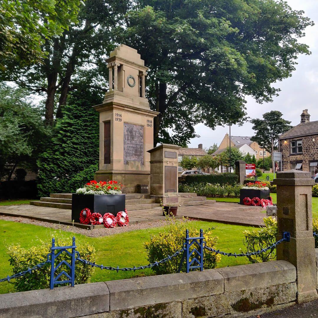 Horsforth Hall Park war memorial