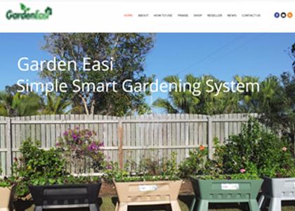 Garden Easi Website Screenshot