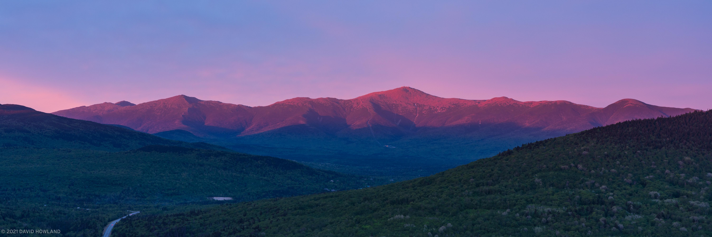 Summer Sunset on Mt. Washington