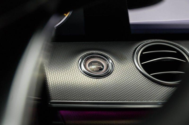 """Mercedes-Benz E-Klasse E63s AMG 4Matic 612pk Panoramadak Distronic Schaalstoelen Burmester ComandOnline Keyless 20"""" Parktronic Pdc VerlengdeGarantie t/m 03/2022 afbeelding 25"""