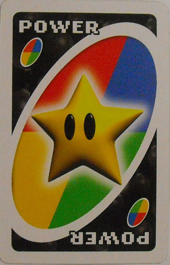 Nintendo Uno (Power Card)