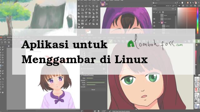 Aplikasi untuk Menggambar di Linux