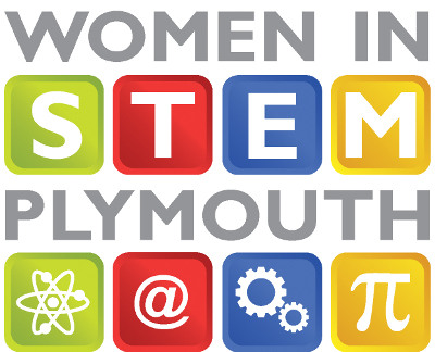 women in stem plymouth logo
