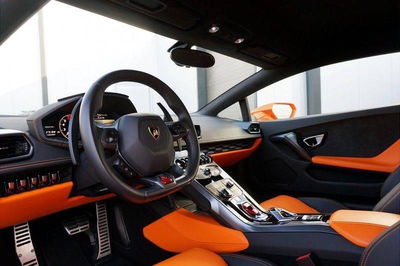 Lamborghini Huracan LP610-4 5.2 V10 Arancio Borealis afbeelding 4