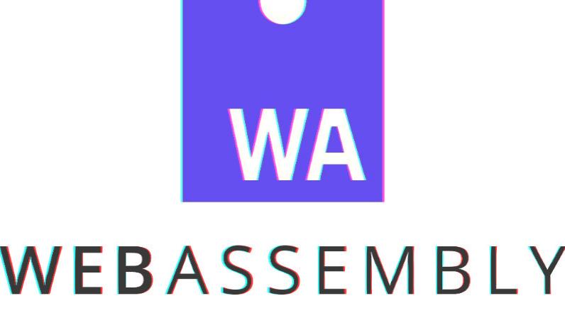 Logo do wasm com efeito aesthetic 3D