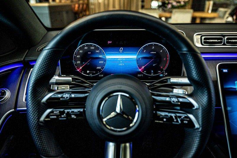 Mercedes-Benz S-Klasse 400d 4Matic Lang AMG | 3D Display | Augmented Head-Up Display | Burmester 3D | Pano | Memory afbeelding 11