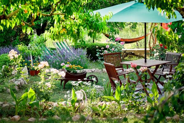 Outdoor Garden Oasis