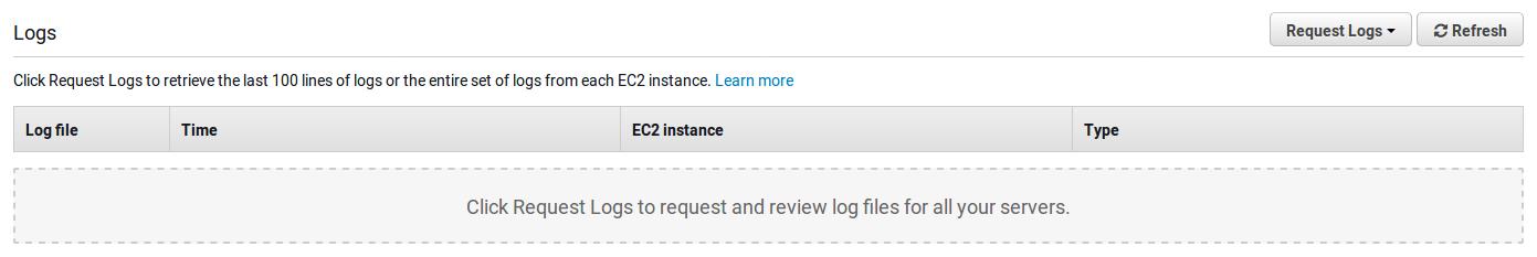 AWS logs
