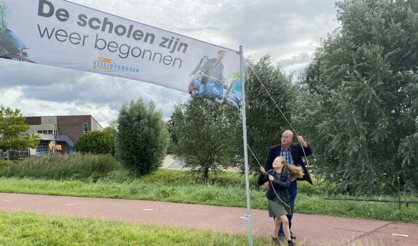Kinderburgemeester vestigt aandacht op start nieuw schooljaar