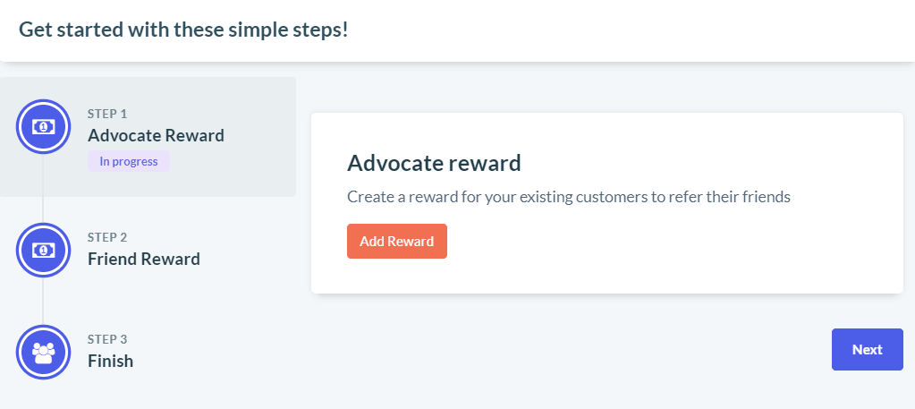 Choose the rewards