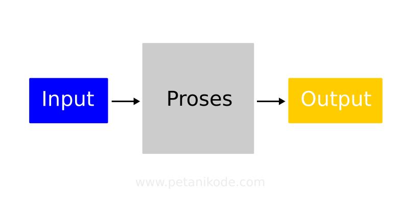 Input proses dan output