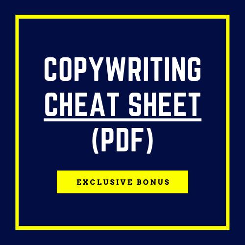 Bonus: Copywriting Cheat Sheet (PDF))