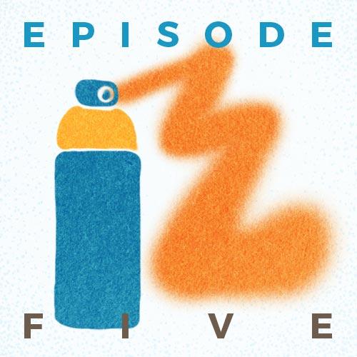 Cover Art for Episode 5: Reversing a Hate Crime