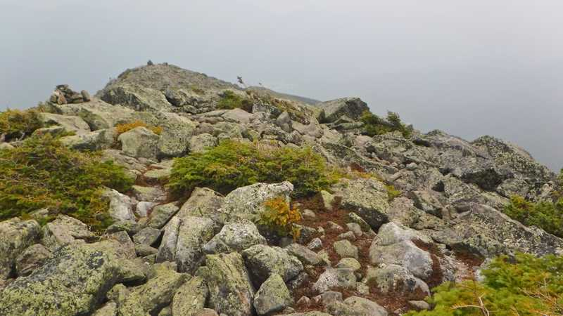 Rocks on Mt. Madison ridge