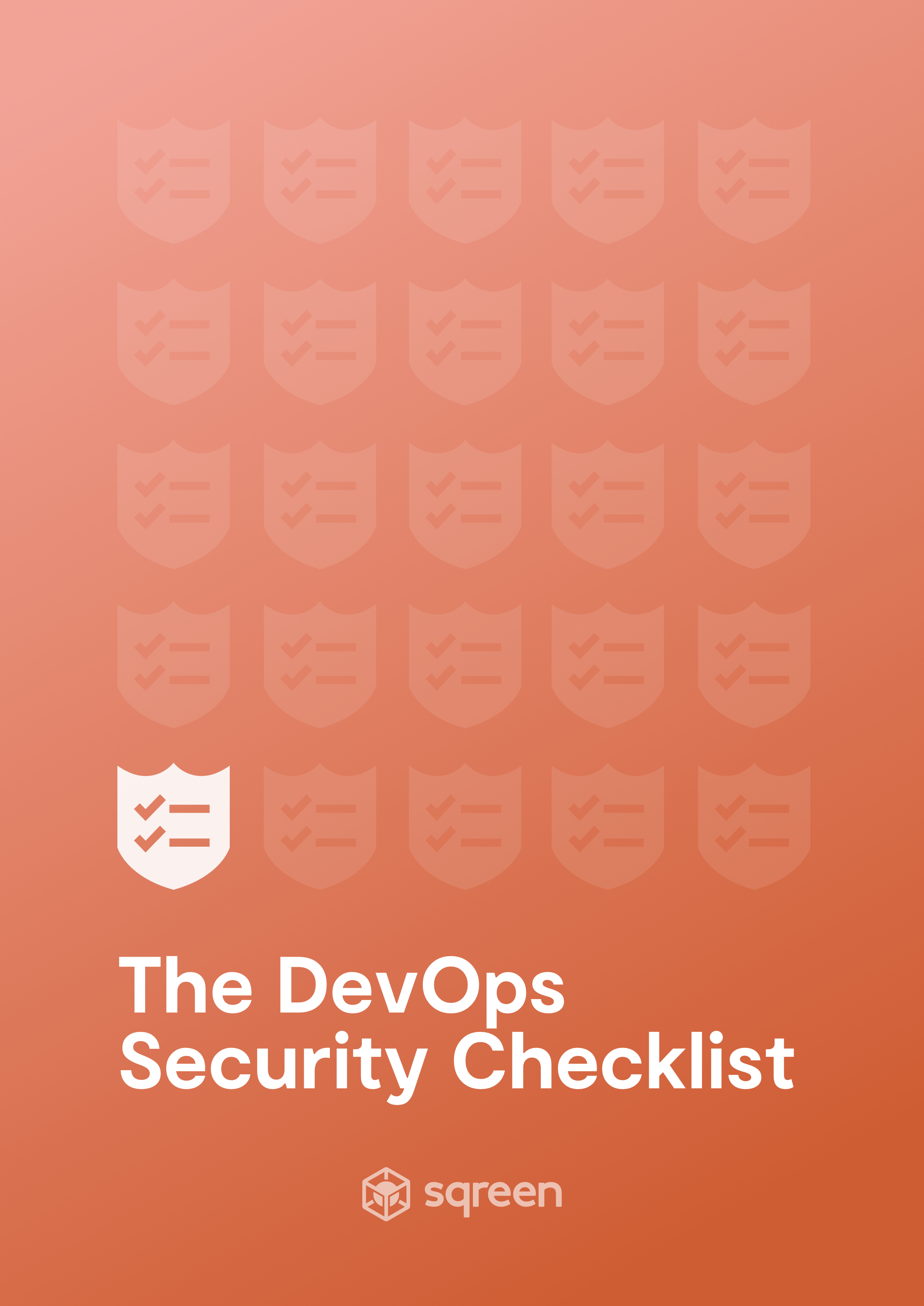 Devops Security Checklist | Sqreen