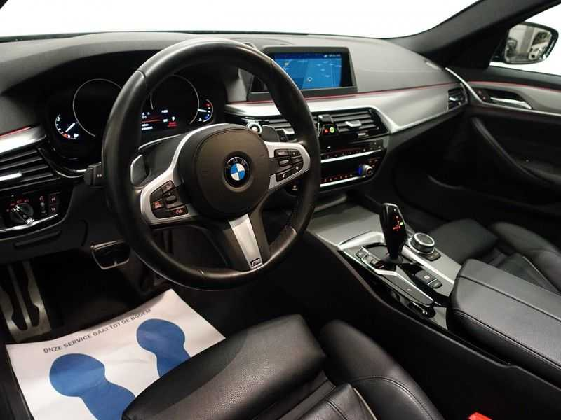 BMW 5 Serie Touring 520i High Exe 210pk M- Perfomance Powerkit- Pano, Leer, Full afbeelding 25