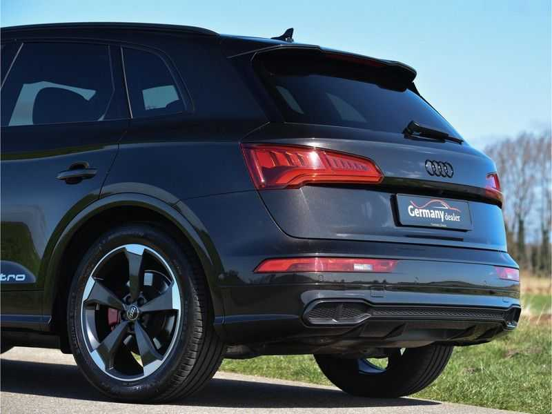 Audi SQ5 3.0TFSI 354pk Quattro Black Optic Alle Opties! Individual Lucht Tr.Haak Standk Ruitleder 360Cam afbeelding 19
