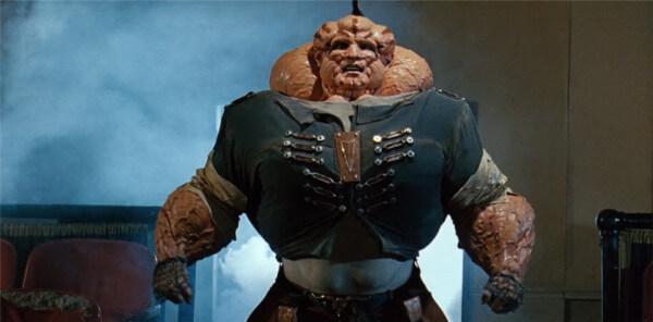 Abobo from the Double Dragon Movie - post steroid abuse