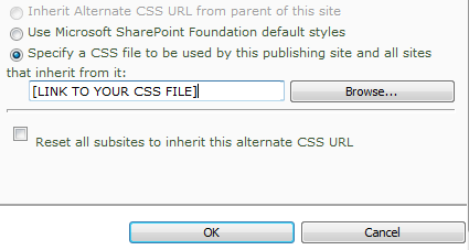 Add Custom CSS to SharePoint 2010 without Master Page