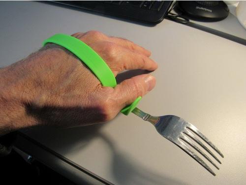 Customizable Universal Cuff Utensil Holder
