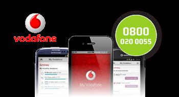 Vodafone gebruikt een 0800-nummer.