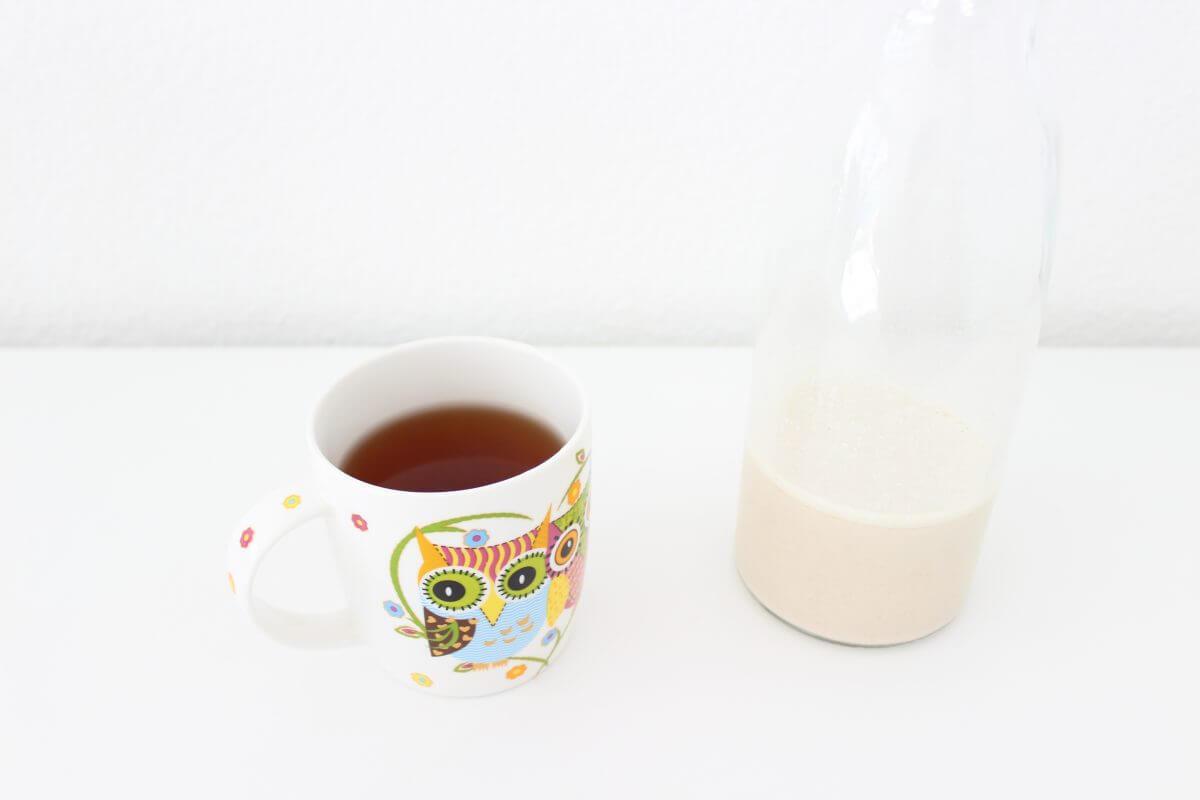 Fertiger Tee