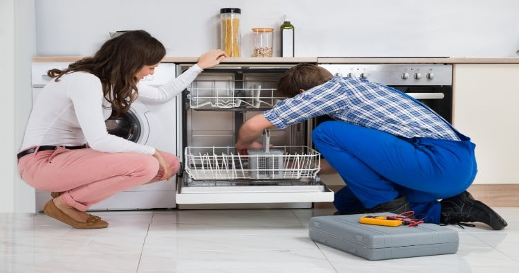 Repairing Dishwasher