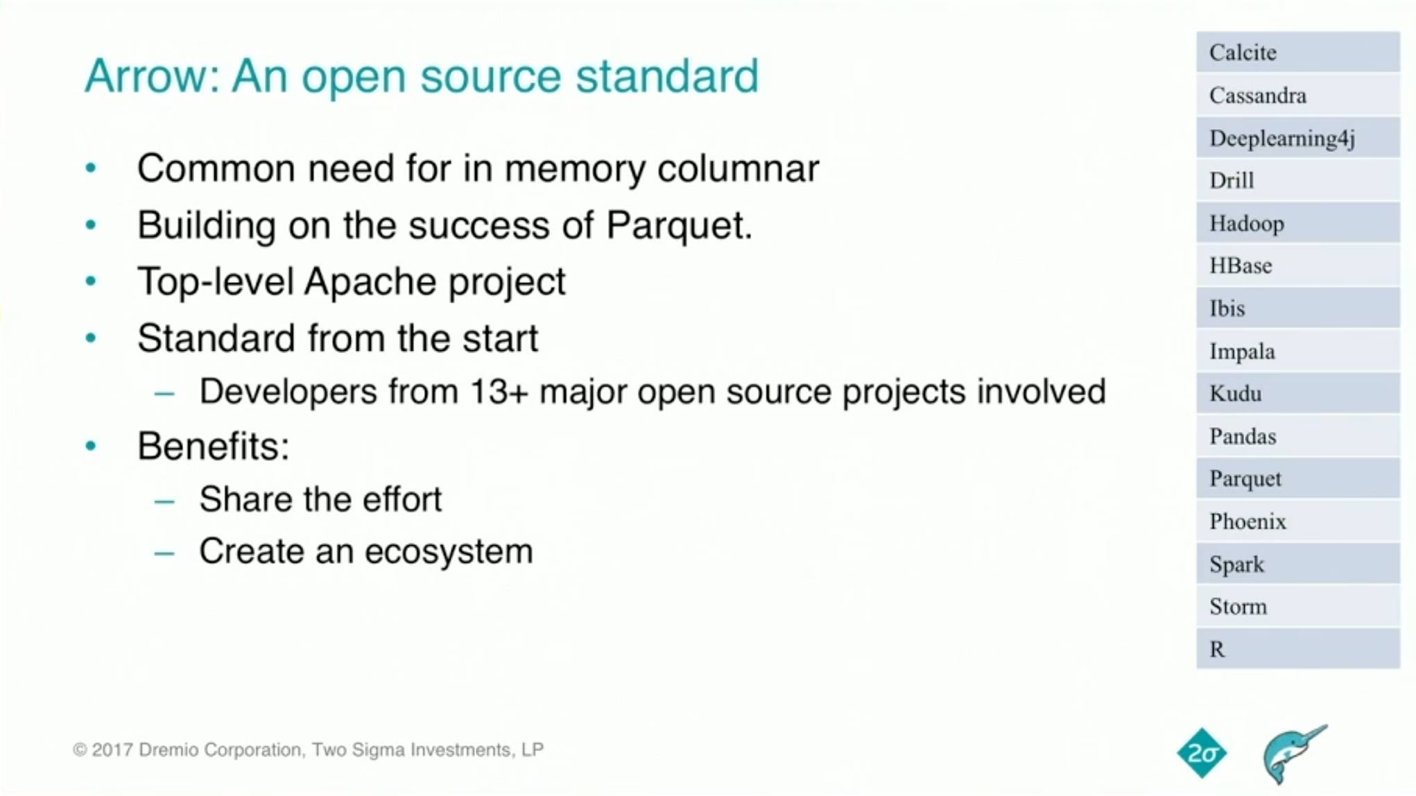 Improving Python and Spark Performance and Interoperability with Apache Arrow