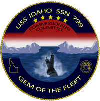 USS Idaho Ship's Crest