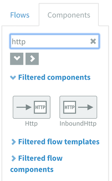 Component library searching