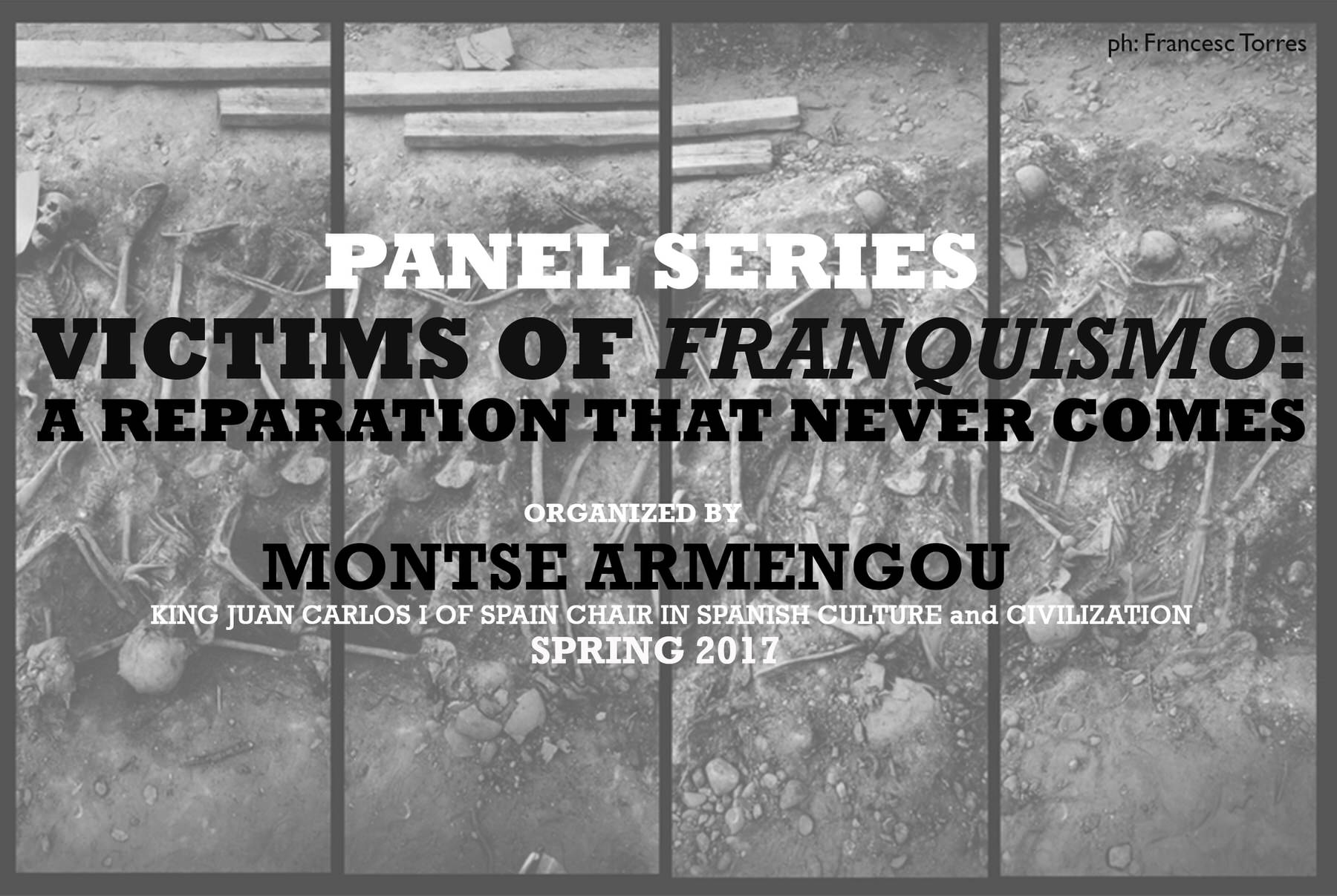 image from Monday, April 24, 6.30pm | Panel 4: Imperfect Transition and Challenges of the Present. Victims, Terrorism, and the State