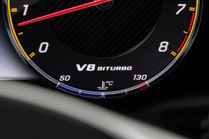 """Mercedes-Benz E-Klasse E63s AMG 4Matic 612pk Panoramadak Distronic Schaalstoelen Burmester ComandOnline Keyless 20"""" Parktronic Pdc VerlengdeGarantie t/m 03/2022 afbeelding 23"""