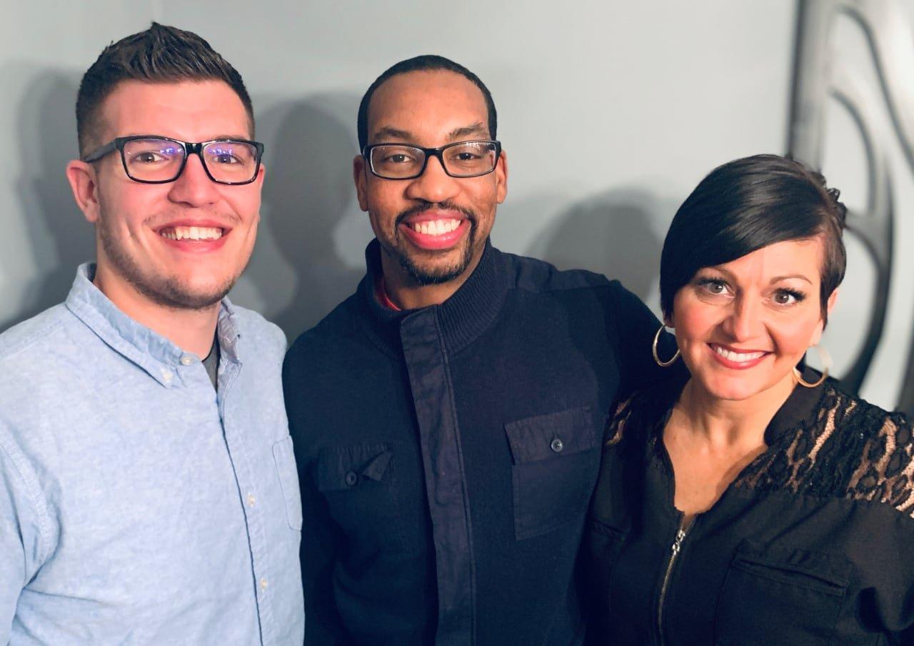 the sargesites team: Jon, Paul, and Kristel