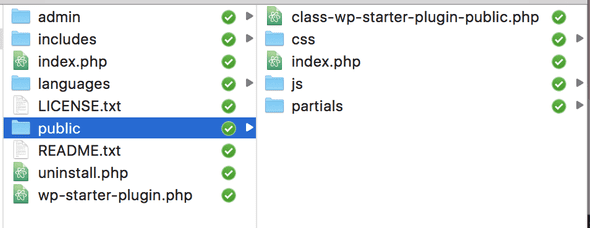 WordPress Plugin Boilerplate Public Folder