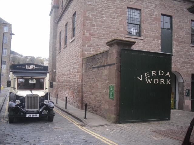 Henry at Verdant Works