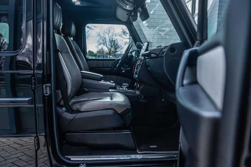Mercedes-Benz G-Klasse 63 AMG, 571 PK, Full/Black Optiek, Schuif/-Kanteldak, TV, Harman/Kardon, Designo leder, Distronic, 57DKM!!! afbeelding 4