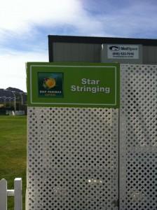 2011 BNP Paribas Open signage