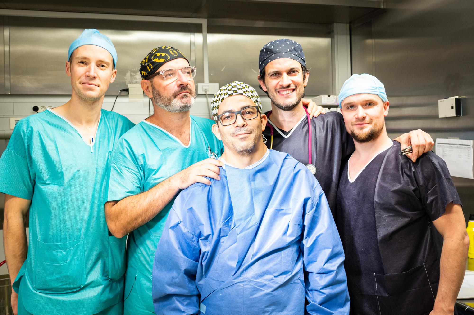 photo de Equipe des anesthésistes