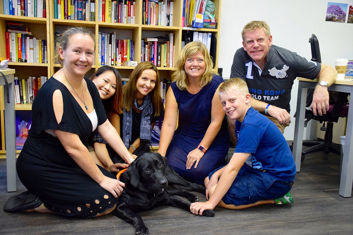 Charlie the Guide Dog and the gang