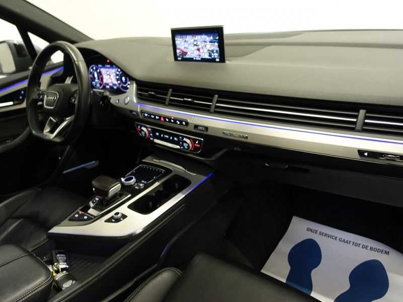 Audi Q7 3.0 TDI (SQ7) 300PK Quattro S-Line 7pers Autom- Pano, Virtual Cockpit, Bose, Head-up, Full! afbeelding 2