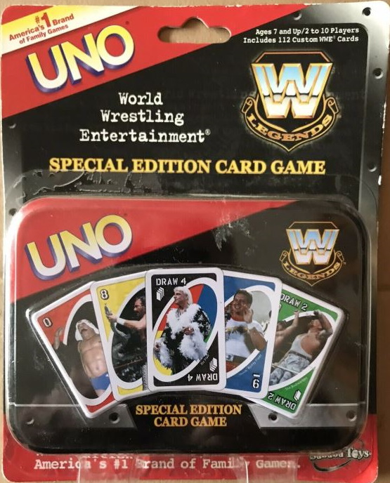 WWE Legends Uno (Special Edition)