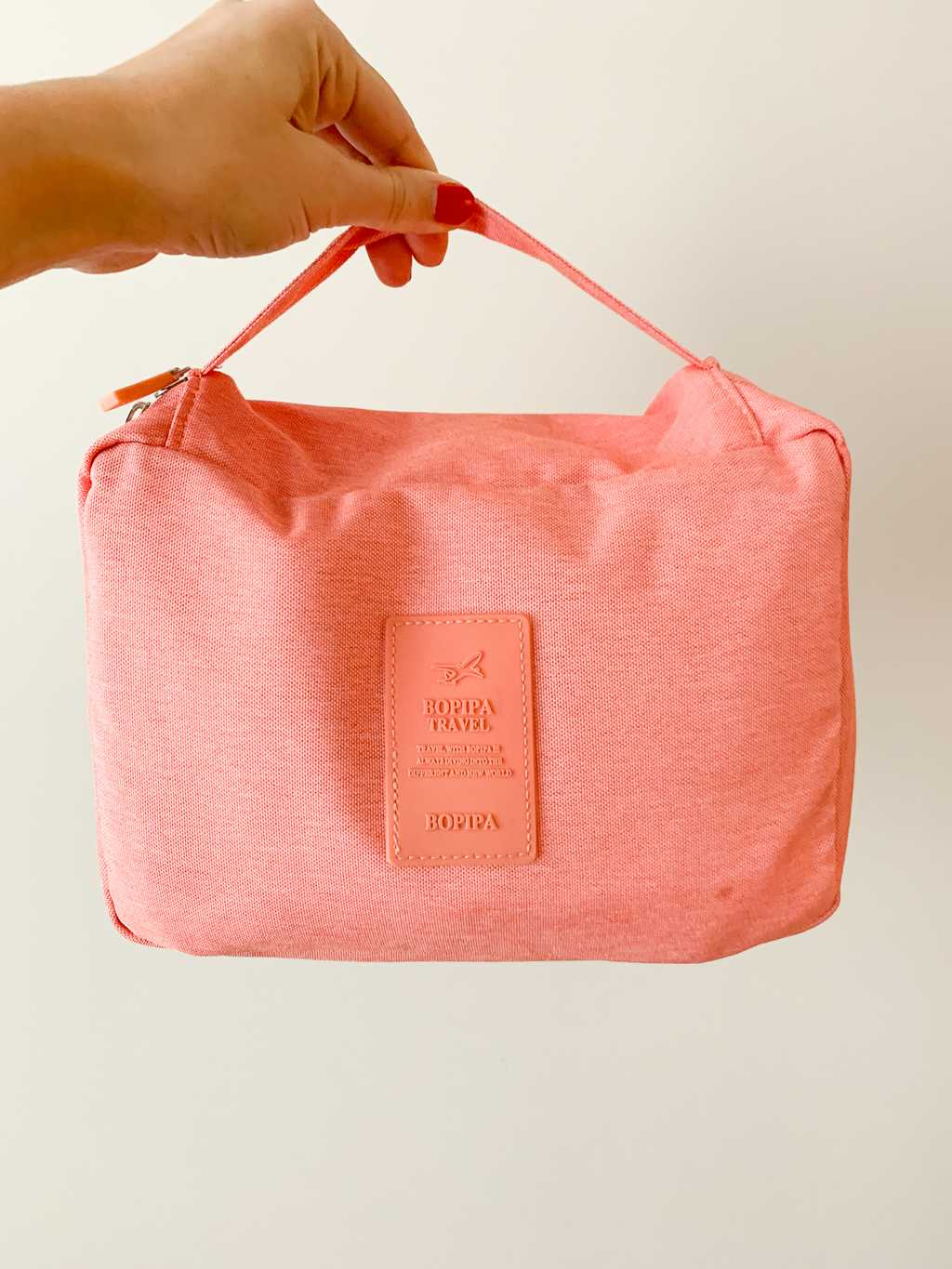 Bopipa travel pouch in pink