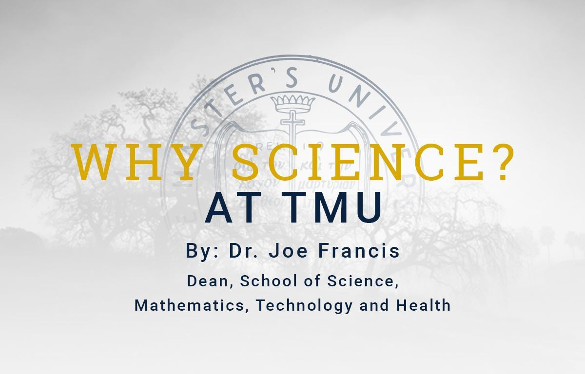 Why Science at TMU?