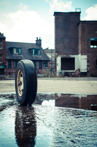 rubber tires can be recycled into long-lasting roofing materials