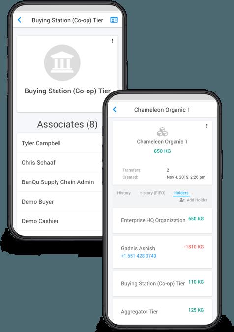 BanQu's mobile platform